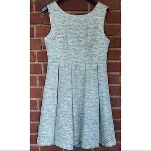 Anthro Paper Crown Tweed Dress